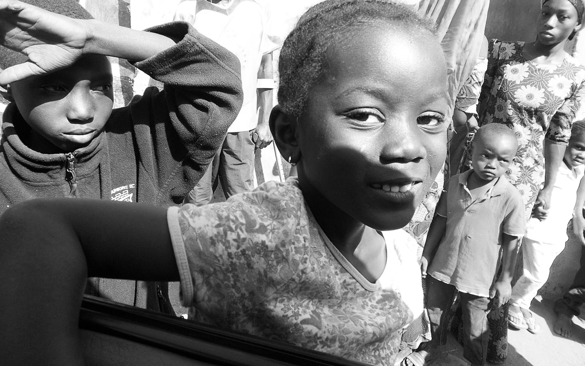 Schenken Sie   <br/> Kindern in Afrika  <br/> eine Zukunft